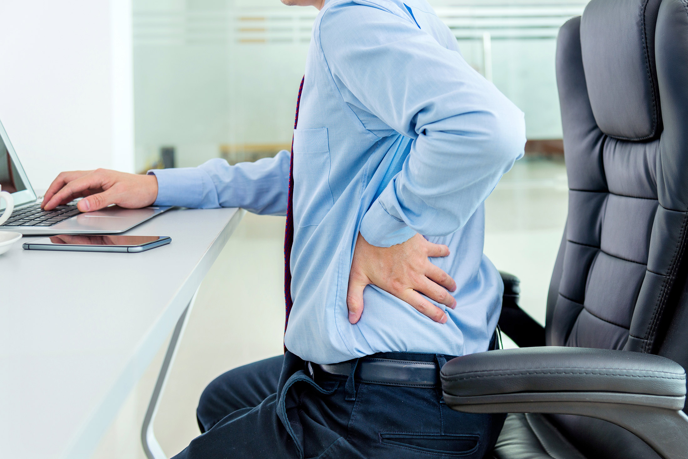 back and neck pain while working from home and how to prevent