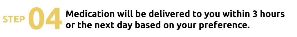 step 4 delivery medicine