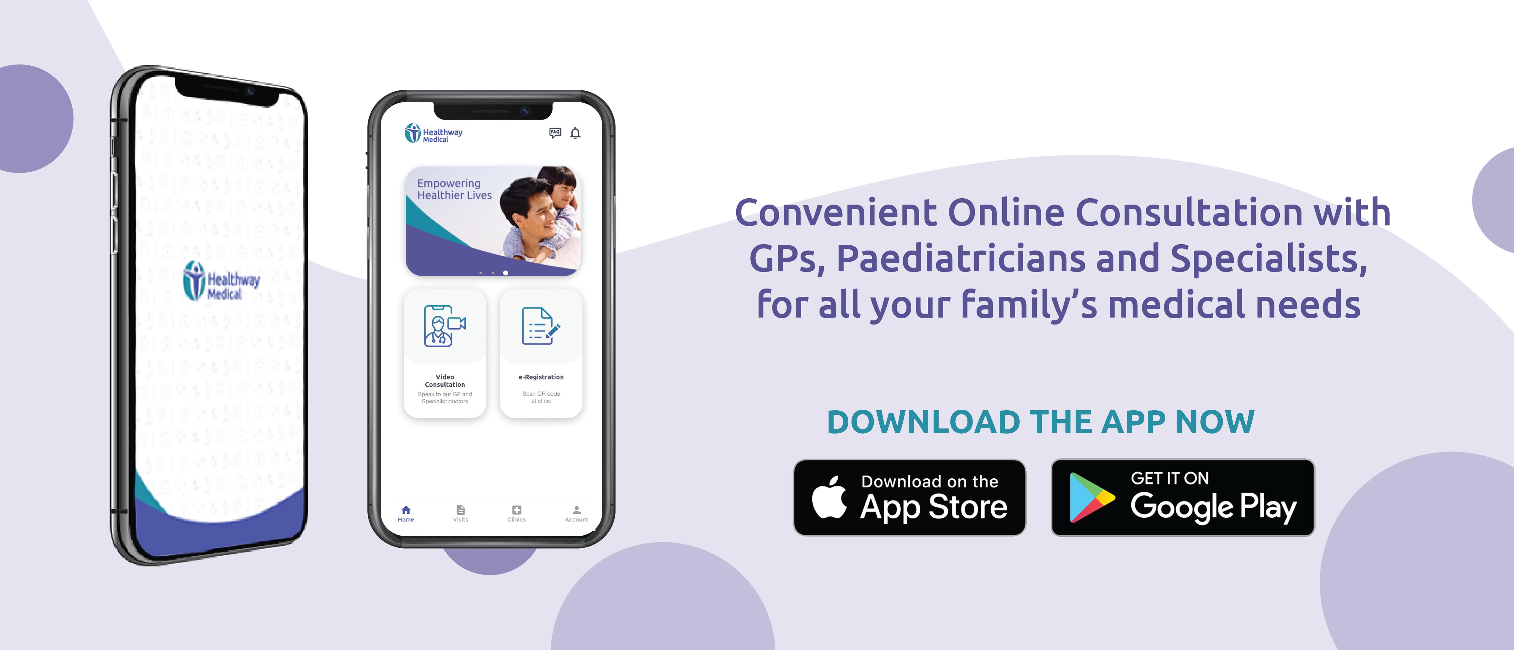 healthway medical app telemedicine download now video consultation