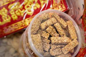 peanuts chinese new year snack